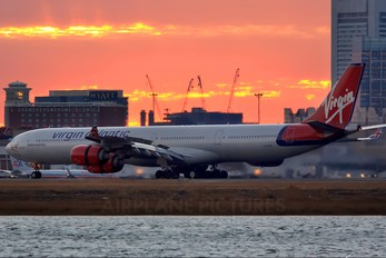 G-VYOU - Virgin Atlantic Airbus A340-600