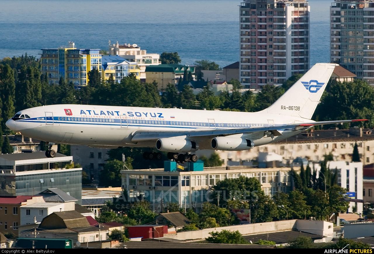 Atlant-Soyuz RA-86138 aircraft at Sochi Intl