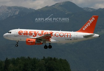 G-EZAC - easyJet Airbus A319