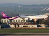 HS-TNE - Thai Airways Airbus A340-600 aircraft