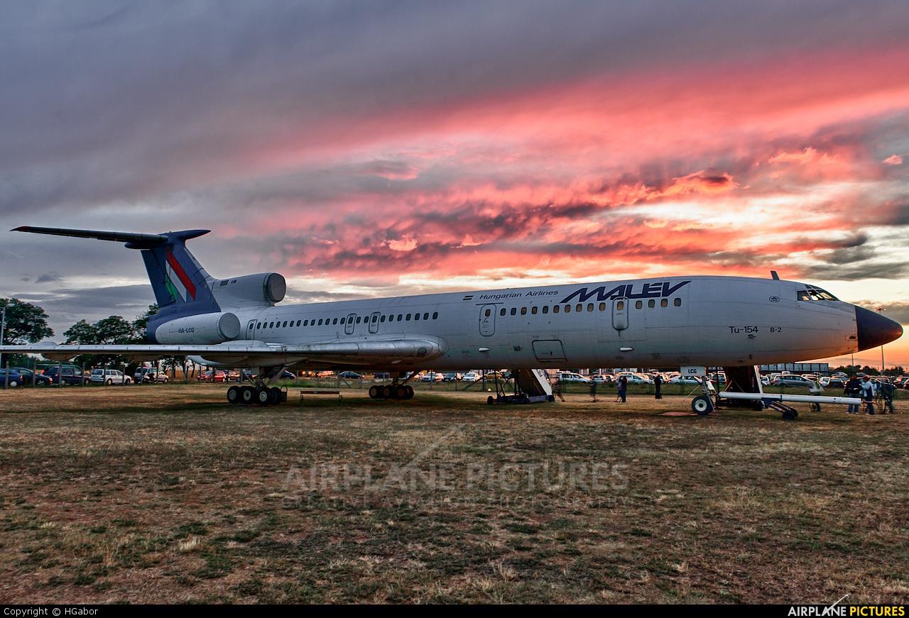 Malev HA-LCG aircraft at Budapest - Ferihegy