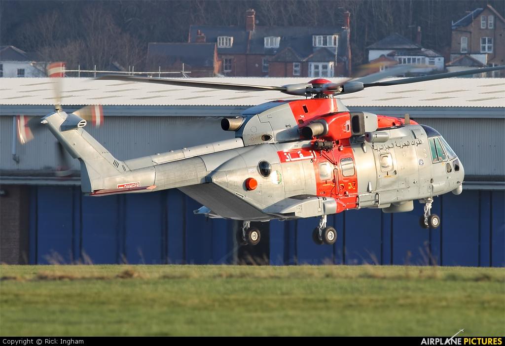 Algeria - Navy ZR331 aircraft at Yeovil