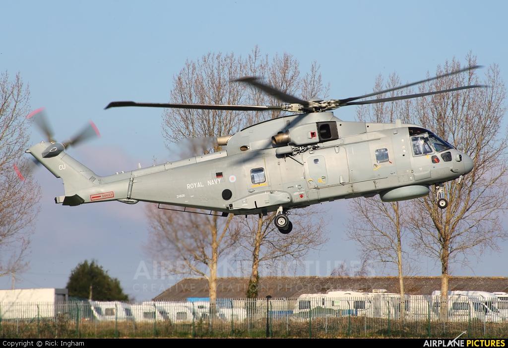 Royal Navy ZH826 aircraft at Yeovil