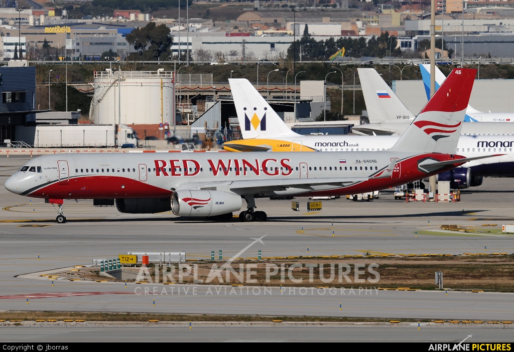 Red Wings RA-64046 aircraft at Barcelona - El Prat