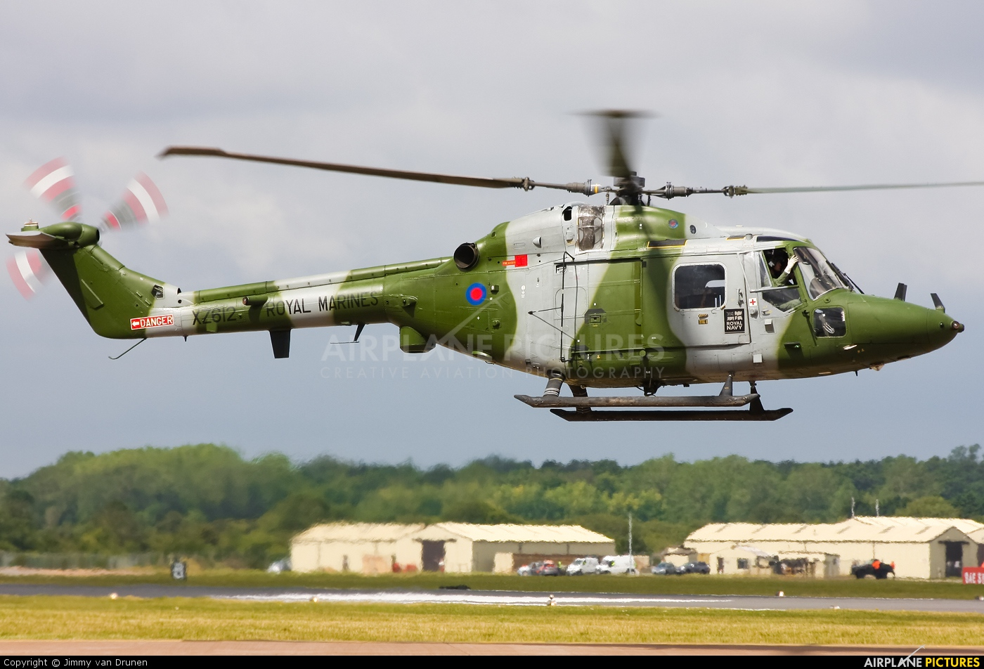 Royal Navy: Royal Marines XZ612 aircraft at Fairford