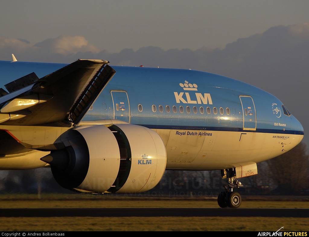 KLM PH-BQO aircraft at Amsterdam - Schiphol