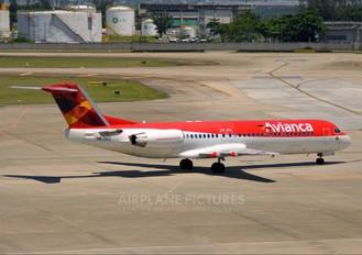 PR-OAU - Avianca Brasil Fokker 100