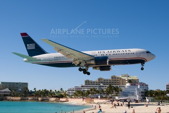 N252AU - US Airways Boeing 767-200ER