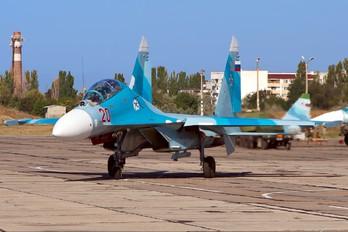 20 - Russia - Navy Sukhoi Su-27UB