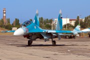 20 - Russia - Navy Sukhoi Su-27UB aircraft