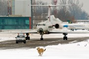 RA-65724 - Meridian Air Tupolev Tu-134 aircraft