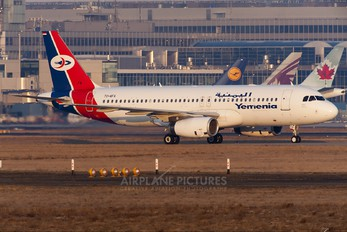70-AFA - Yemenia - Yemen Airways Airbus A320