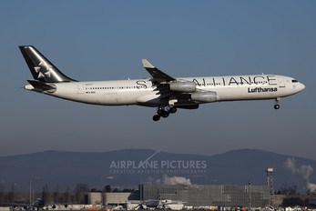 D-AIGC - Lufthansa Airbus A340-300