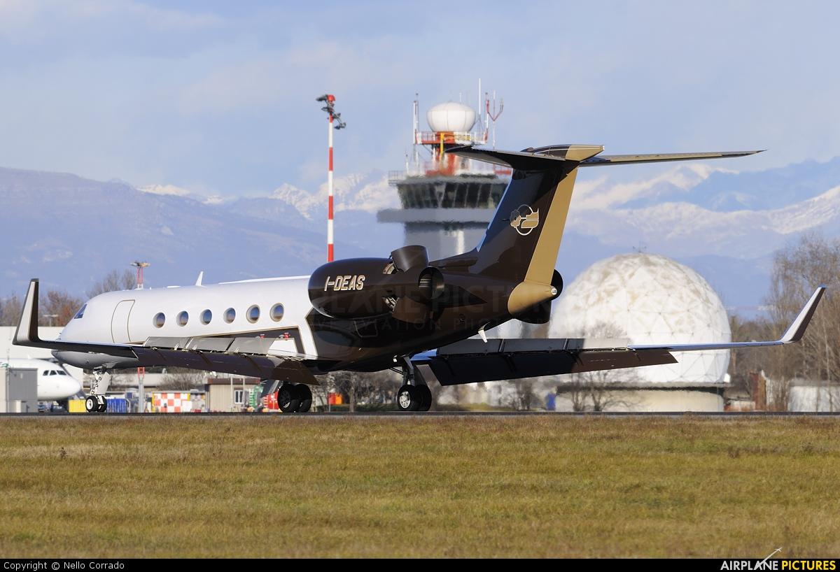 Alba Servizi Aerotrasporti I-DEAS aircraft at Milan - Linate