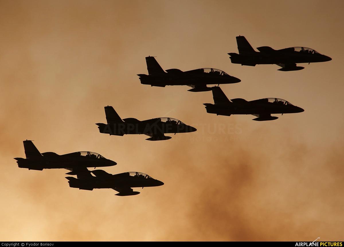 "United Arab Emirates - Air Force ""Al Fursan&quo - aircraft at Sakhir"