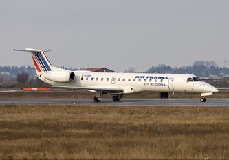 F-GUBG - Air France - Regional Embraer ERJ-145