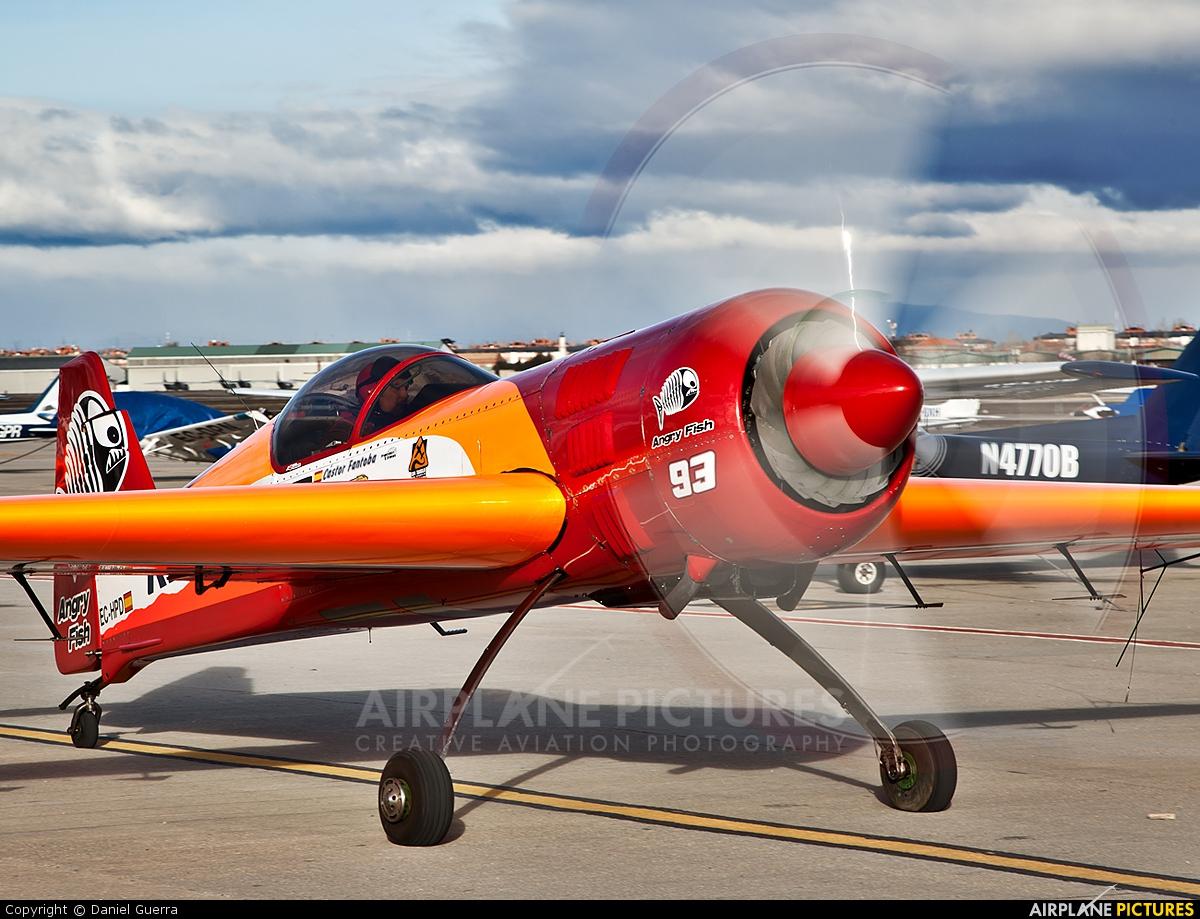 Bravo3/Repsol Team EC-HPD aircraft at Madrid - Cuatro Vientos