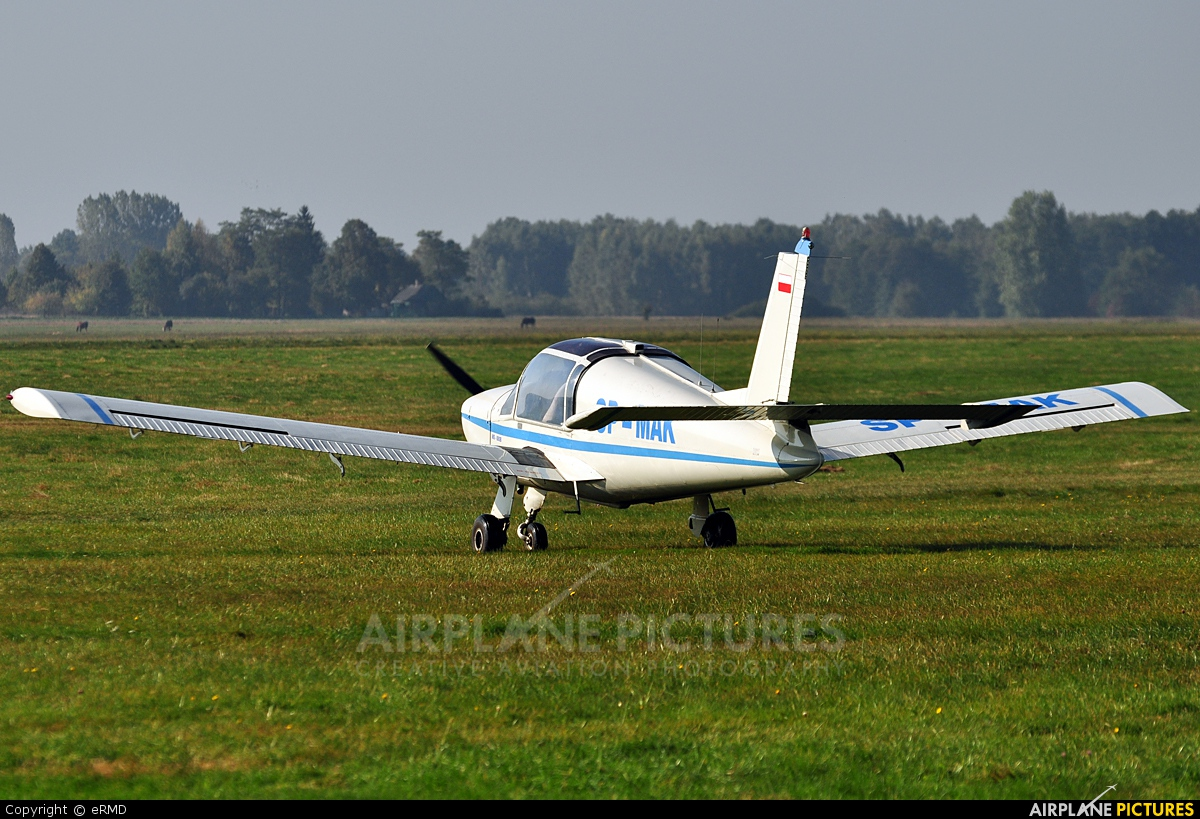 Private SP-MAK aircraft at Radom - Piastów