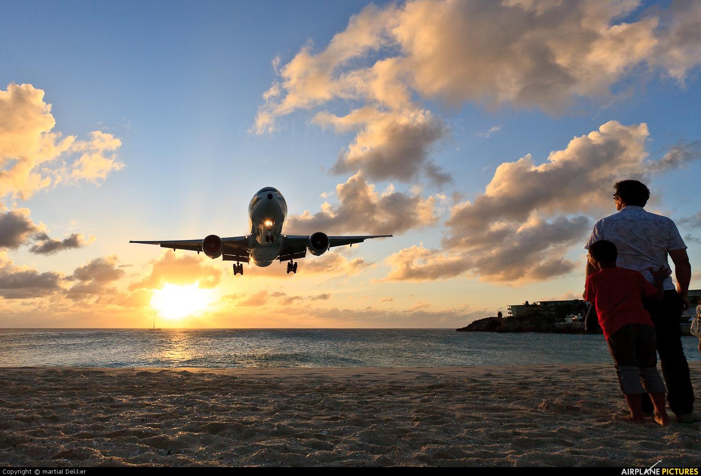 Alitalia EI-ISD aircraft at Sint Maarten - Princess Juliana Intl