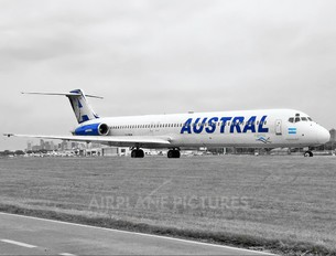 LV-BOH - Austral Lineas Aereas McDonnell Douglas MD-88