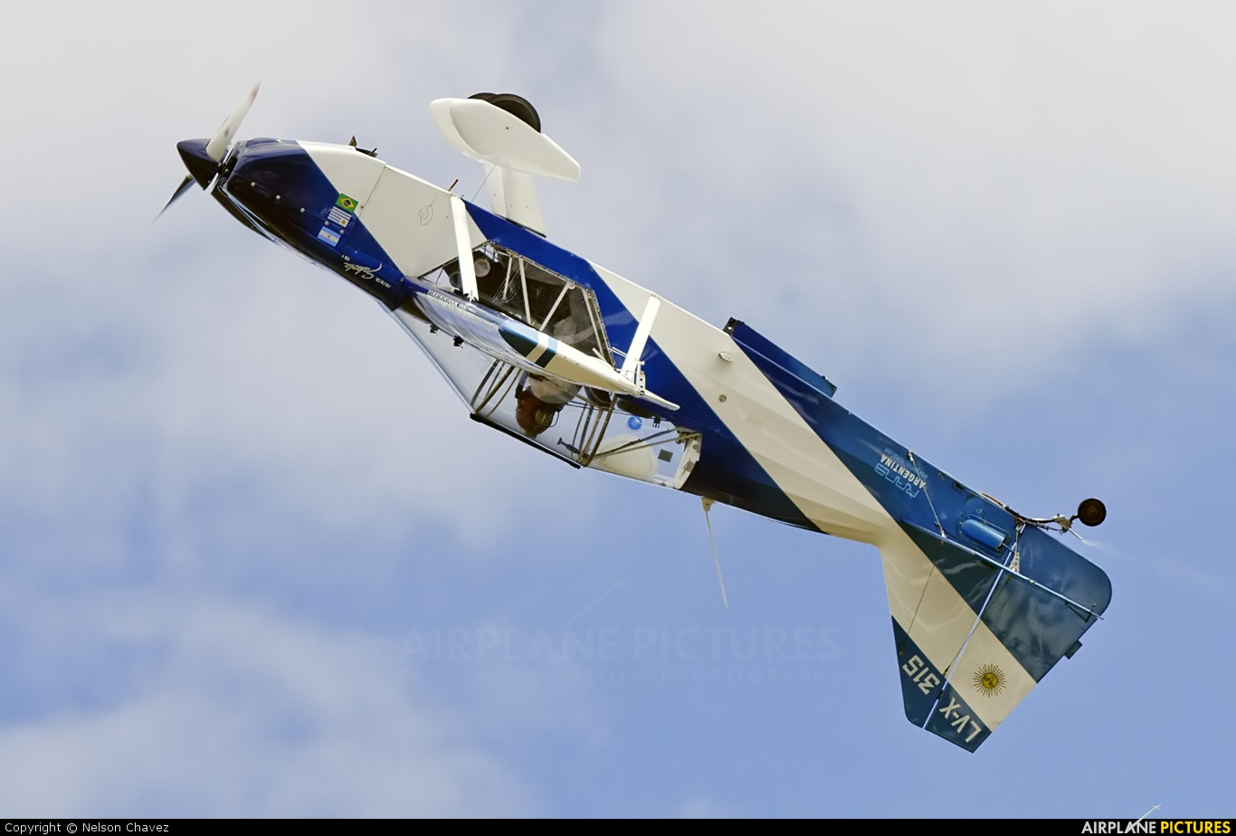 Private LV-X315 aircraft at Villarrica