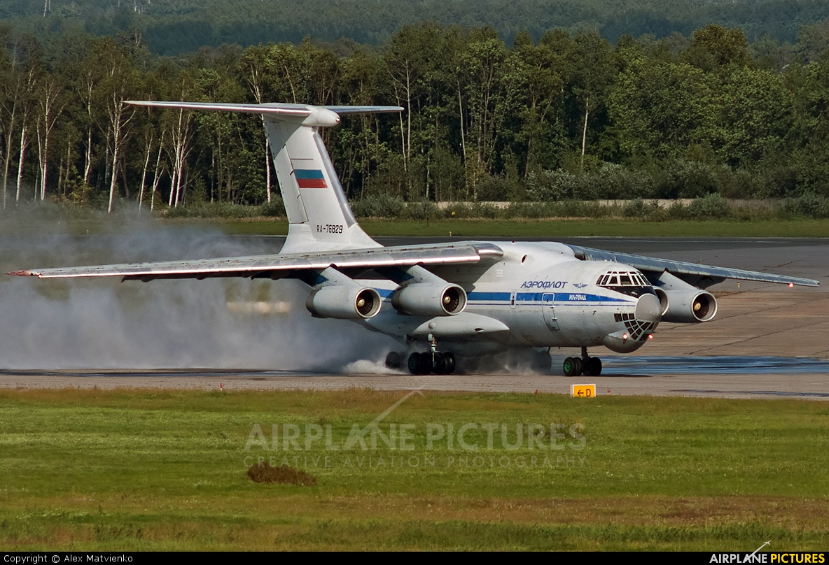 Russia - Air Force RA-76829 aircraft at Khabarovsk Novy