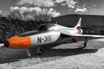 N-315 - Netherlands - Air Force Hawker Hunter T.7