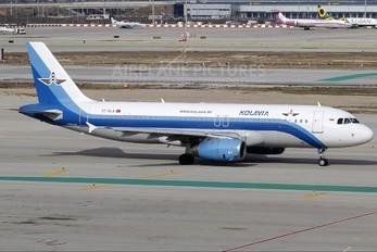 TC-KLA - Kolavia Airbus A320