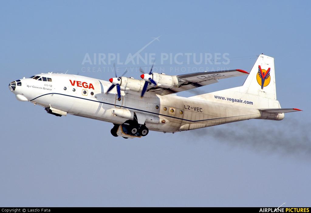 Vega Airlines LZ-VEC aircraft at Budapest Ferenc Liszt International Airport