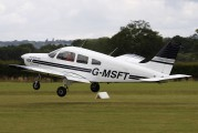 G-MSFT - Private Piper PA-28 Warrior aircraft