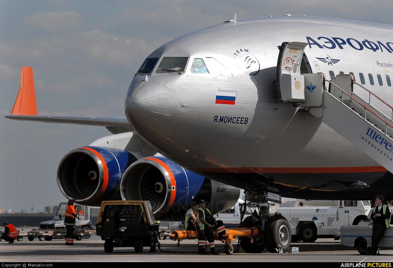 Aeroflot RA-96008 aircraft at Moscow - Sheremetyevo