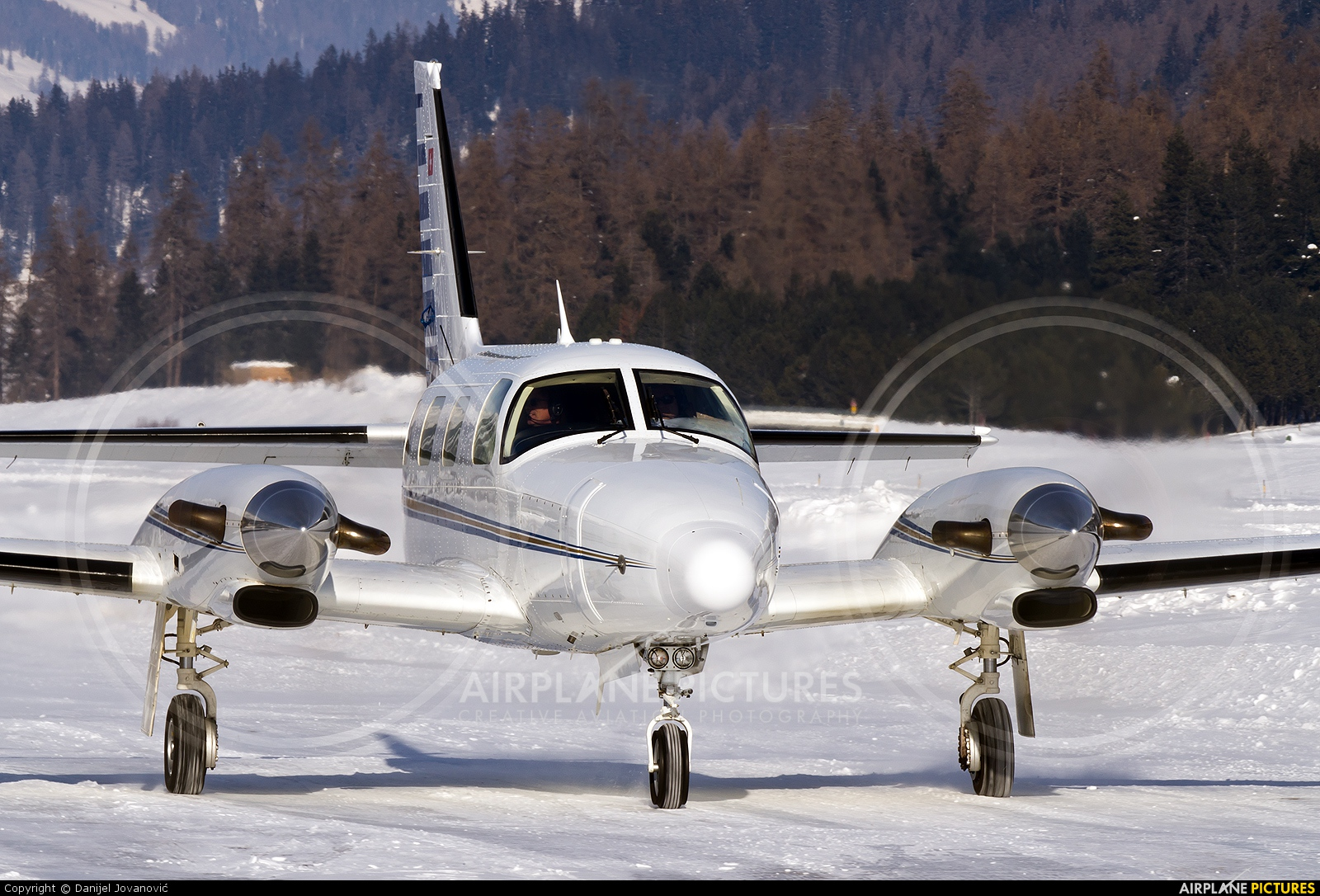 Swiss Private Flights HB-LUQ aircraft at Samedan - Engadin