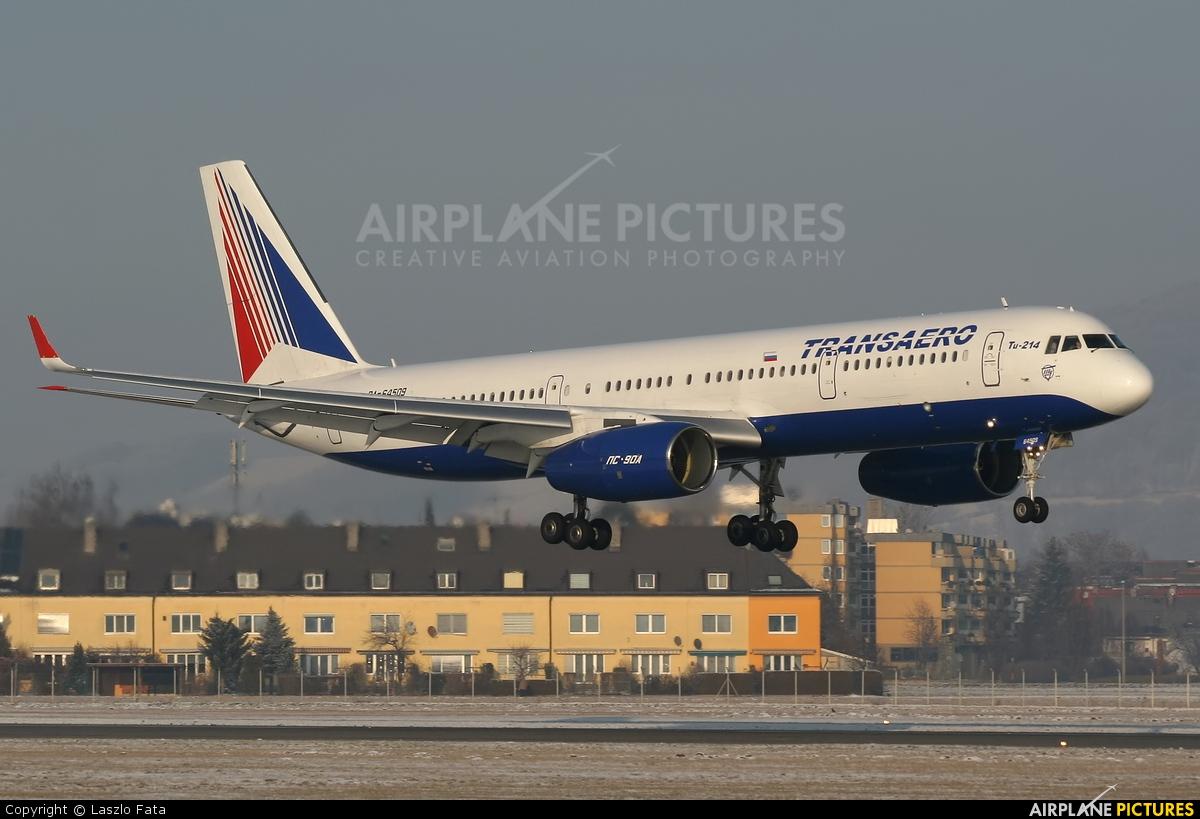 Transaero Airlines RA-84509 aircraft at Salzburg