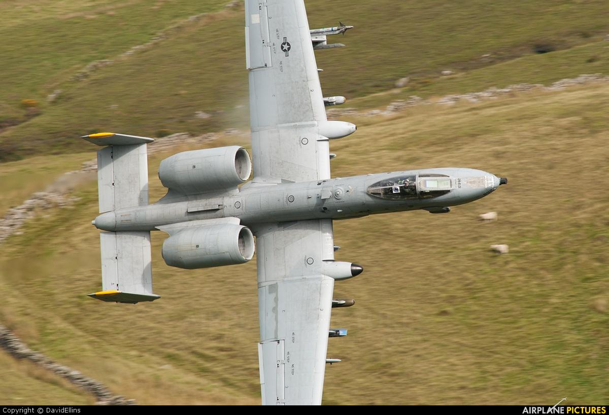USA - Air Force 81-0992 aircraft at Off Airport - Wales