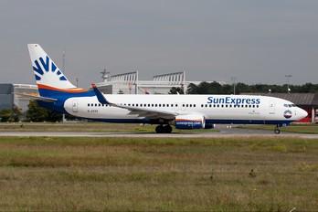 D-ASXS - SunExpress Germany Boeing 737-800