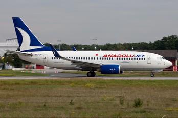TC-JKI - AnadoluJet Boeing 737-700