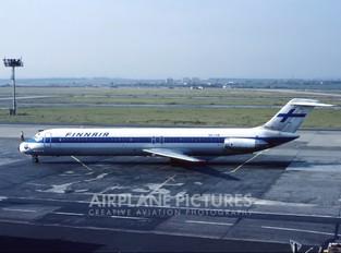 OH-LYR - Finnair Douglas DC-9