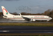 CN-ROE - Royal Air Maroc Boeing 737-800 aircraft