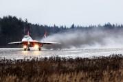 "09 - Russia - Air Force ""Strizhi"" Mikoyan-Gurevich MiG-29UB aircraft"