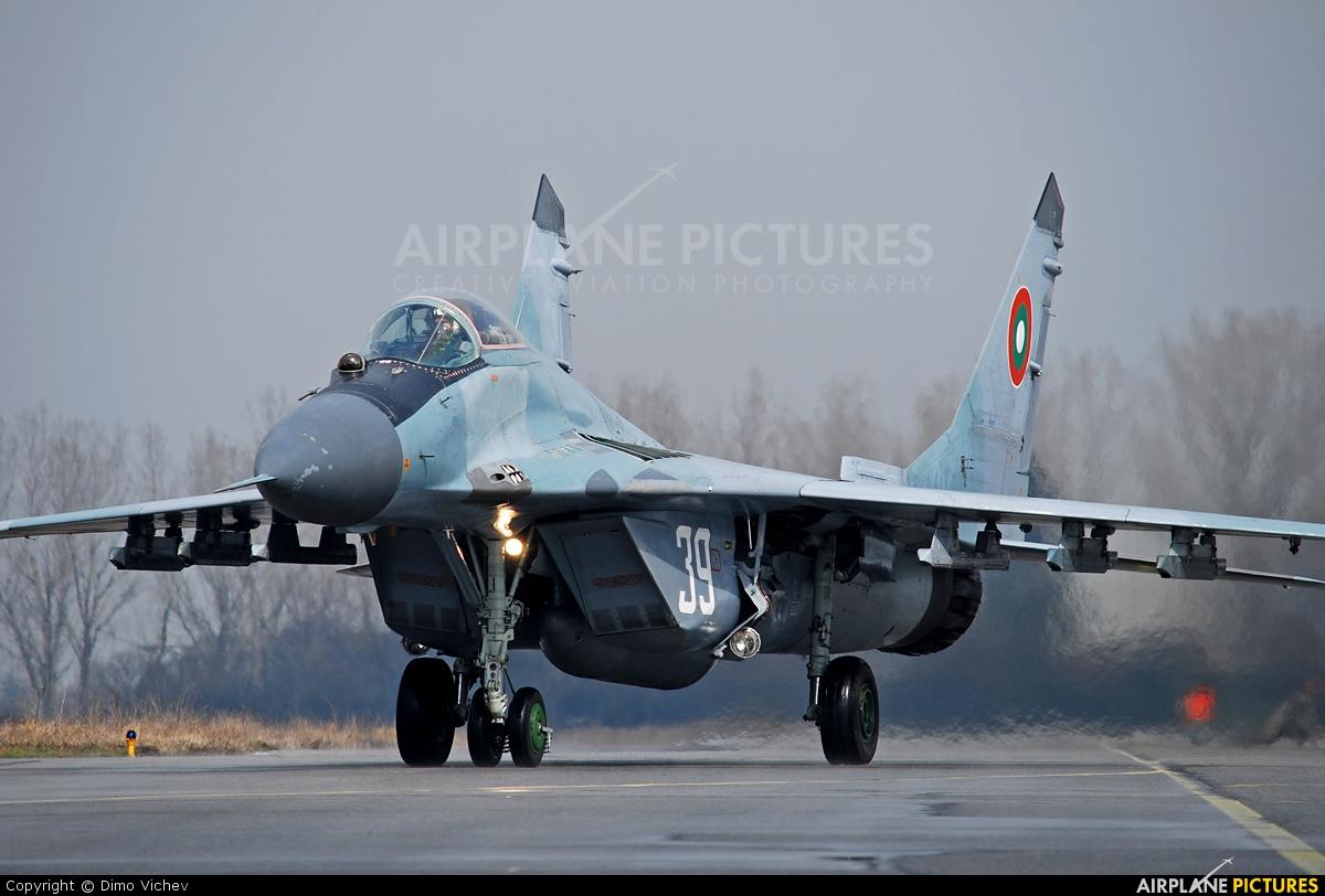 Bulgaria - Air Force 39 aircraft at Graf Ignatievo