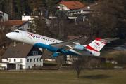 OE-LFQ - Austrian Airlines/Arrows/Tyrolean Fokker 70 aircraft