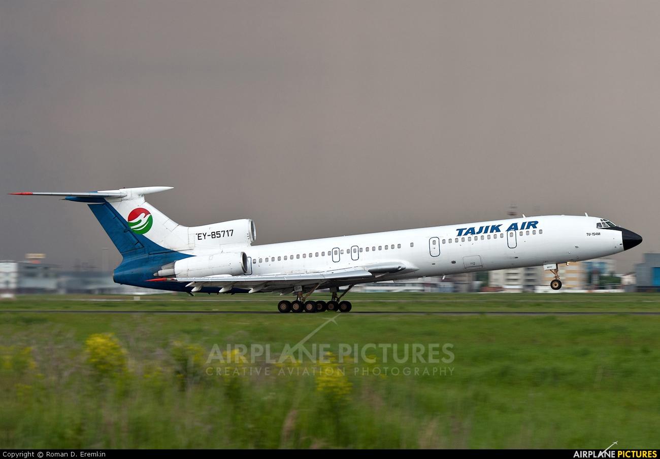 Tajik Air EY-85717 aircraft at Koltsovo - Ekaterinburg