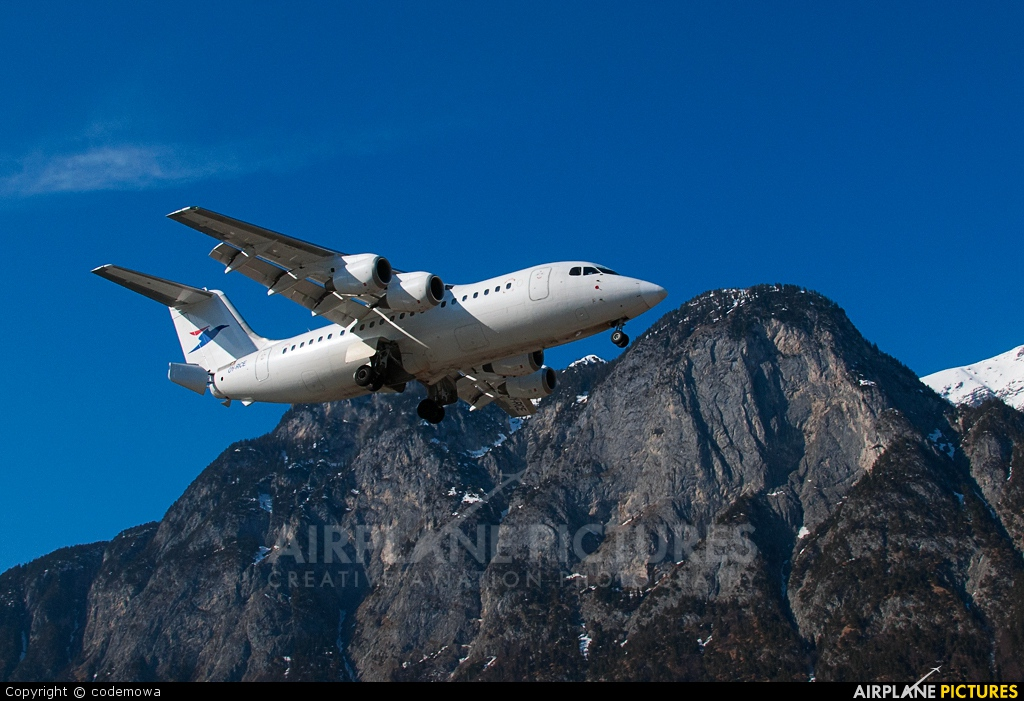 Atlantic Airways OY-RCE aircraft at Innsbruck