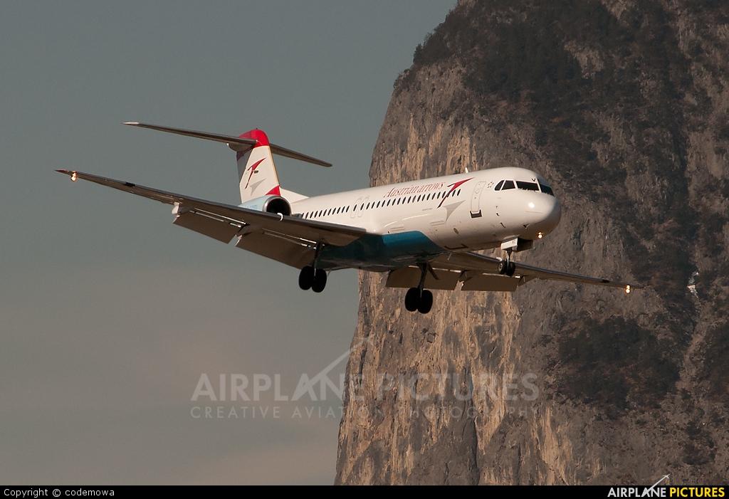 Austrian Airlines/Arrows/Tyrolean OE-LVC aircraft at Innsbruck