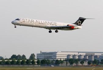 OY-KHP - SAS - Scandinavian Airlines McDonnell Douglas MD-81