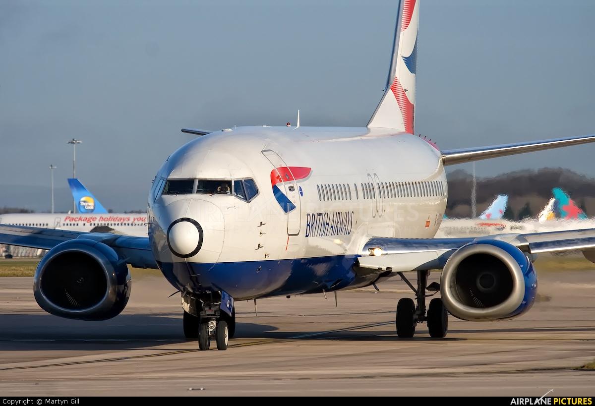 British Airways G-DOCA aircraft at Manchester