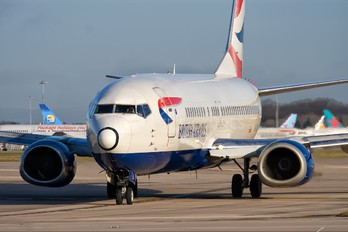 G-DOCA - British Airways Boeing 737-400