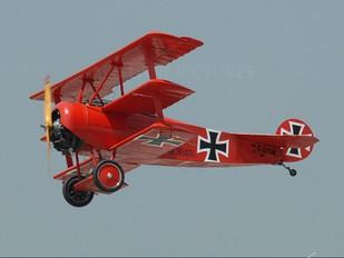 C-GFJK - Private Fokker DR1 Triplane