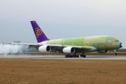 F-WWAO - Thai Airways Airbus A380 aircraft