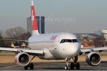 HB-IJU - Swiss Airbus A320